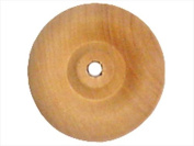 Laras Crafts-New Image Design LAR202-10437 5.1cm . Bulk Wood Spool - 24 Piece