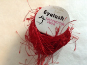 Trendsetter Eyelash Yarn #8 Red 20gr