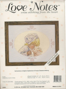"""Love Notes"" Kisses Cross Stitch Kit # 08306"