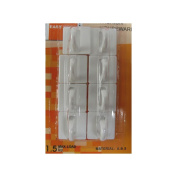 Adhesive Easy Hook (8 Pack)