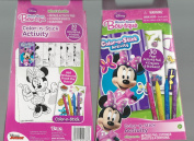 Disney - MINNIE MOUSE - colour-N-STICK ACTIVITY {NIB