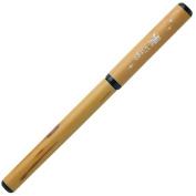 Akashiya brush pen natural Take-hitsu pen transparent case Virgo AK2700MP-18