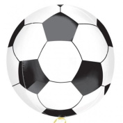 Championship Soccer Football Shaped Foil Orbz Balloon