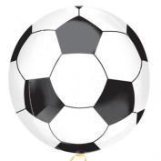Championship Soccer Football Shaped Foil Orbz Balloon