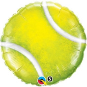 Qualatex Tennis Ball Shaped 46cm Qualatex Foil Helium Balloon