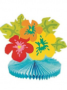 Bright Hibiscus Centrepiece