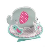 Pink Elephant Birthday Centrepiece