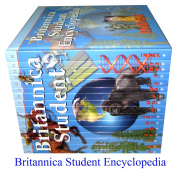 Britannica Student Encyclpedia Set - Brand New 16 Big Sized Hardcovers - 2015 Edition