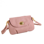 Voberry Womens Vintage Leather Messenger Bag Crossbody Cute Mini Travel Handbag