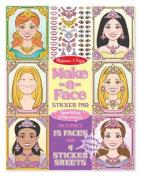 Melissa & Doug Make-a-Face Princesses