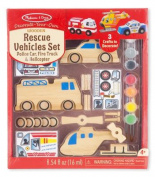 Rescue Vehicles DYO - Craft Kit by Melissa & Doug