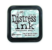 Ranger Tim Holtz Distress Ink Pad, Weathered Wood