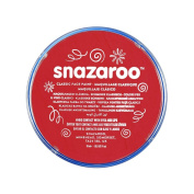 Snazaroo Classic Face Paint, 18ml, Bright Red