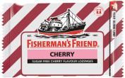 Fisherman's Friend Sugar Free Refreshing Cherry Flavour Cough Lozenges, 25g pack,