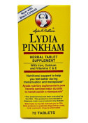 Lydia Pinkham with Black Cohosh Menopause Help 72 Capsules
