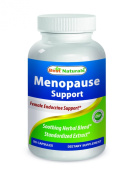 #1 Menopause Support 90 Capsules by Best Naturals - Female Endocrine Support - Manufactured in a USA Based GMP Certified and FDA Inspected Facility and Third Party Tested for Purity.