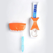 Dental Power Dust-proof Toothpaste Dispenser Automatic Toothpaste Squeezer and Holder Set