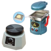 Zgood Dental Lab Vacuum Forming Moulding Former Machine JT-18 + Round Vibrator Vibrating JT-14 NEW by East Dental