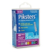 Piksters Interdental Brushes Size 5 Blue Handle 40 Ea