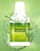Natural Mouthwash Extracts From Bamboo 300 Ml.