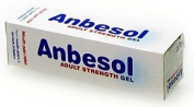 Anbesol Adult Strength Gel for Mouth Ulcers and Denture Irritation 10g