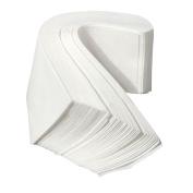 Polytree 100pcs Non Woven Facial Body Hair Removal Paper Depilatory Epilator Wax Strip White
