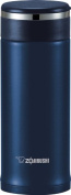 Zojirushi SM-JTE34AD Stainless Steel Travel Mug with Tea Leaf filter , 330ml/0.34-Litre, Deep Blue