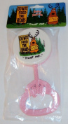 Plastic Baby Rattle - Hand Held Shaker, Pink. 4 for $9.99.
