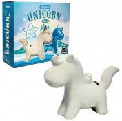 Magical Unicorn Money Bank - White