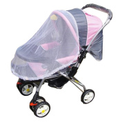 DDLBiz Summer Safe Baby Carriage Insect Full Cover Mosquito Net Baby Stroller Bed Netting