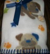 Puppy Dog Garanimals FleeceBaby Blanket 90cm x 100cm