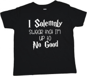 Baby Tee Time Boys' Crew Neck TEE I solemnly swear that... funny Shirt