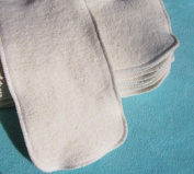 Large Inserts Soakers 15x5 Hemp Organic Cotton Fleece Cloth Pocket Nappy