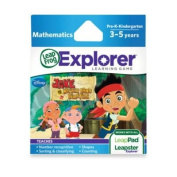 Leapfrog Explorer Jake & The Never Land Pirates Learning Game
