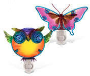 Puzzled Night Light Butterfly and Owl