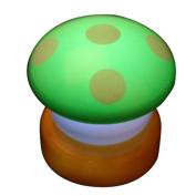 NBellShop LED Colourful Mushroom Press Down Touch Lamp Night Light, Green