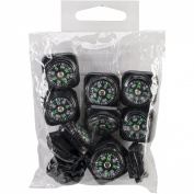 Midwest Design Paracord Compass Pack, Black