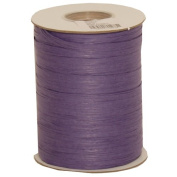 JAM Paper & Envelope NEW Purple 200 Yard Spools of Wraphia (Wraffia) Ribbon - sold individually