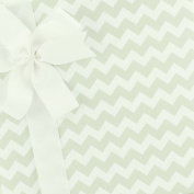 Party Paper Gift Wrap - Chevron - Grey Fizz by SmashCake & Co.