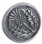 Thistle Pewter Buttons - Card of 4