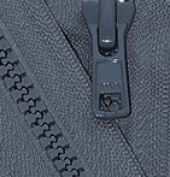 80cm Vislon Zipper ~ YKK #5 Moulded Plastic ~ Separating - 579 Dark Grey