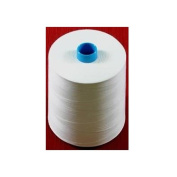 Janome White Embroidery Bobbin Thread 20,000 Metre Cone