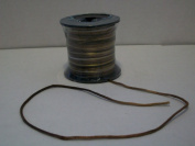 Variegated Multi Colour Brown 2mm X 50 Yards Satin Rattail Cord Chinese/china Knot Rat Tail Jewellery Braid 100% Polyester