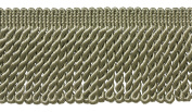 7.6cm Long SEACREST GREEN Bullion Fringe Trim, Colour