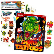 Jurassic World Stickers and Dinosaur Tattoos Party Favour Pack