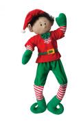 Elf Magic Boy with Black Hair Holliday Doll - 90cm