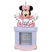 Disney Baby Girls First Minnie Mouse Photo Frame Ornament