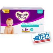 Parent's Choice - Unscented Baby Wipes, 500 ct