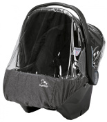Peg Perego Primo Viaggio Rain Cover, Clear with Light Grey