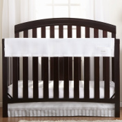 BreathableBaby Railguard Crib Rail Cover, White